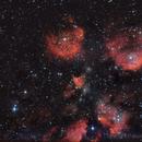 Cat's Paw nebula,                                RCompassi