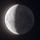 Moon and Da Vinci's Glow,                                Delberson