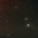 Reflexionsnebel Messier (M) 78 mit Teilen von Barnard´  s Loop im Orion,                                astrobrandy