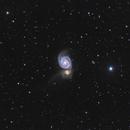 M51 Whirlpool Galaxy,                                Mark Kuehner