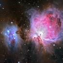 M42 The Orion Nebula and Running Man,                                Jarrett Trezzo