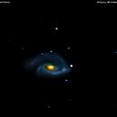 ngc3338 galassia nel leone                                                        distanza 60 milioni A.L.,                                Carlo Colombo