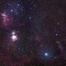 Gas nebula in constellation of Orion,                                Norbert Reuschl