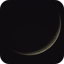 3 days old moon crescent,                                Dennys_T