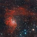 IC405 Flaming Star Nebula,                                star-watcher.ch