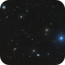 Messier Galaxy mosaic (M98, 99 & 100) in Virgo/Coma Berenices,                                Barry Wilson