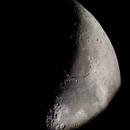 Waxing crescent Moon,                                Feez