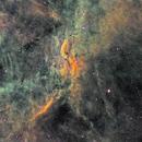 Propeller Nebula Hubble Palette,                                David Lindemann