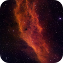 NGC 1499 - California (SII - Ha - OIII),                                Rich Sky