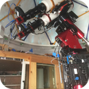 Dual William Optics FLT 132 APO setup,                                Stephen Garretson