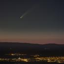 C/2020 F3 NEOWISE OVER CABANILLAS DEL CAMPO (GUADALAJARA, SPAIN),                                astropleiades