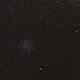 offene Sternhaufen M 46 und M 47 im Sternbild Hinterdeck des Schiffes (Puppis) - Widefield,                                astrobrandy