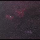 C/2014E2 Jacques and IC1805 - IC1848,h-x,                                Fuuma-mfuk