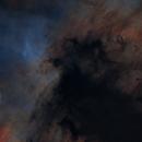 NGC7000, dark dust complete starless,                                Ola Skarpen SkyEyE