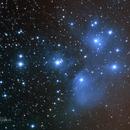 M45 - Pleiades - 2nd attempt,                                Tim Hutchison