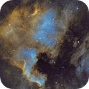 North America and Pelican Nebula,                                Adam Livingston