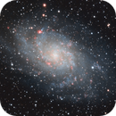 Messier 33,                                Tom's Pics