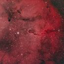 IC 1396 - The Elephant's Trunk - HOO,                                Ron