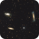 Leo Triplet - M66  (OSC + L from the previous LRGB image),                                Almos Balasi