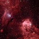 Gabriela Mistral Nebula and Gem Cluster,                                TWFowler