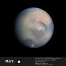 Mars - the dust storm evolves,                                Niall MacNeill