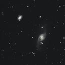 NGC 3718, NGC 3729 and Hisckson 56,                                Steven Bellavia
