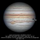 Jupiter and Ganymede - 2021/8/22,                                Baron