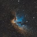 NGC 7380 - The Wizard Nebula,                                Benny Colyn
