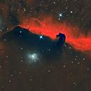 Horse-head nebula (Barnard 33),                                Nasdaq76