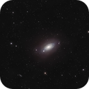 Follow the sign - M63,                                spacetimepictures