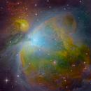 SHO narrowband Orion Nebula,                                Andrew Lockwood
