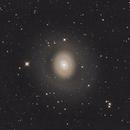 M94 galaxy  (NGC 4736 ) and faint halo around it.,                                Joe Hua