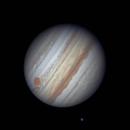 Jupiter and Callisto 11 Sep 2019,                                Seb Lukas