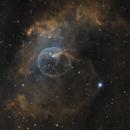 NGC7635 The Bubble Nebula in SHO,                                Frank Zoltowski