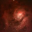 M8 - Lagoon Nebula,                                Michael Sanford