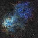 SH2-232 - an emission nebula in Auriga,                                Simon