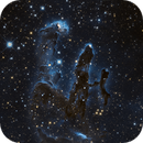 Messier 16 - Pillar of Creations in IR from Hubble WFC3-IR camera,                                andrealuna
