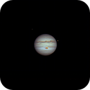 Jupiter, Io, Callisto, and Io's Shadow,                                Pat Darmody