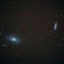M81 et M82,                                Valéry Henrard