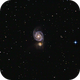 M-51 Whirlpool Galaxy in Canes Venatici,                                Francois Theriault