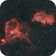 IC 1805 & 1848 - The Heart and the Soul,                                mxpwr