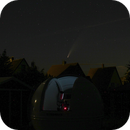 Komet C/2020 F3 ( Neowise ) - über meiner Sternwarte,                                Horst Twele
