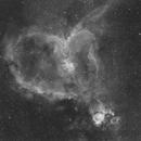 IC1805 - The Heart Nebula,                                Vincent Groenewold