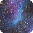IC 4628 The Prawn Nebula Narrow Band Mosaic,                                Ian Parr