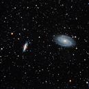 M81 and M82,                                Jim Nadeau