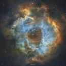 Rosette Nebula - Hubble pallet,                                Henrique Silva