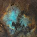 NGC 7000 SHO color,                                LAMAGAT Frederic