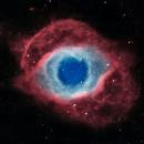 Bicolor (HOO) NGC 7293 (Helix Nebula),                                Leonel Padron