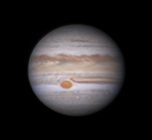 Jupiter: First light with new C11,                                Darren (DMach)