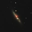 M82 - Cigar Galaxy,                                Sabin Roman